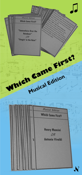 Which Came First? Musical Edition -  Piano Party Game