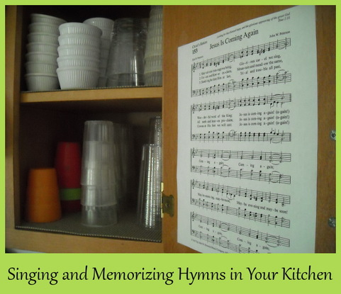 Singing and Memorizing Hymns