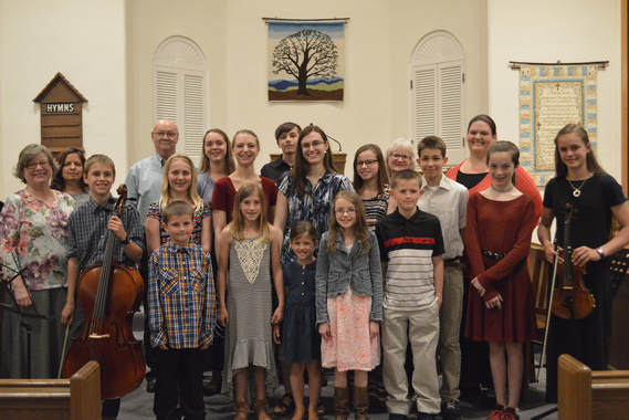 Notes of Joy Piano Studio's 2018 Spring Recital