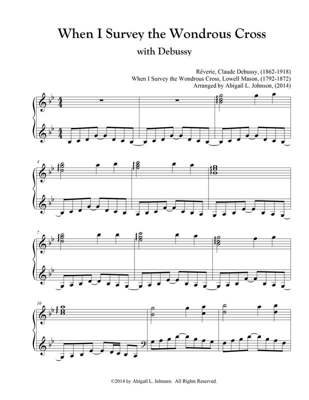 Sheet Music - Notes of Joy Piano Studio